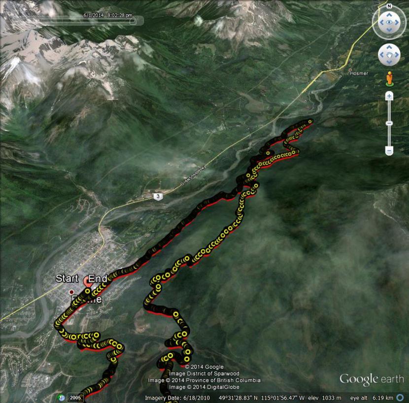 Fernie3 Stage2 Route